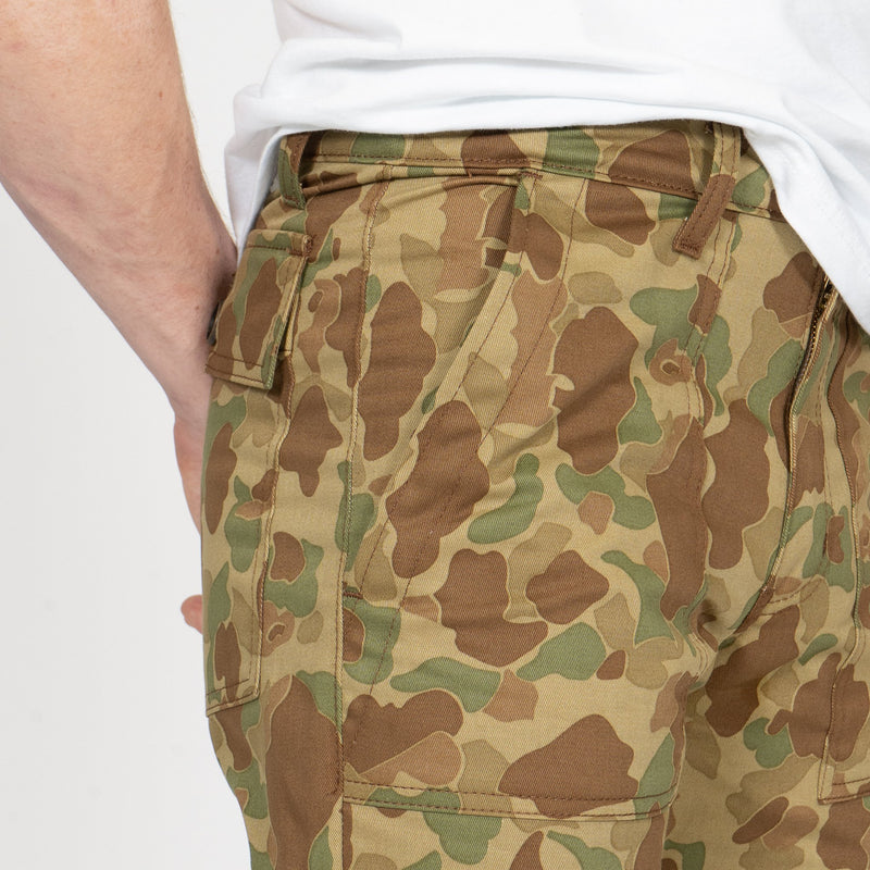 Work Pant - Double Sided Camo - Green - pocket shot