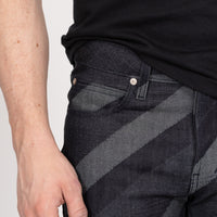 Super Guy - Crossways Denim -coin pocket shot