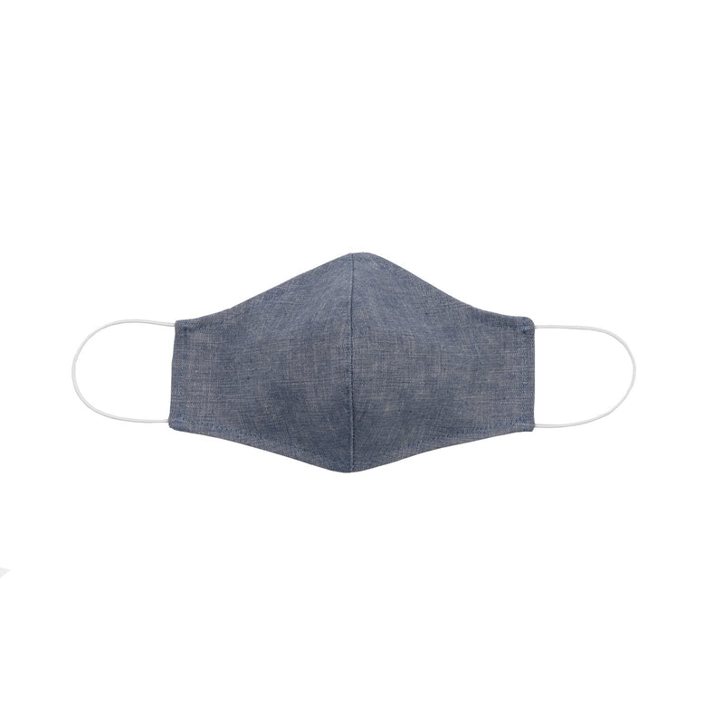 Protection Face Mask - Cotton Chambray - 2