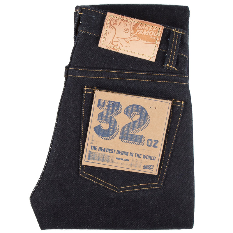 Weird Guy - Super Heavyweight 32oz Selvedge - Indigo
