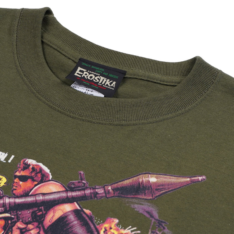 ERPLAT01 - T-Shirt - Platoon of Big Tits Olive