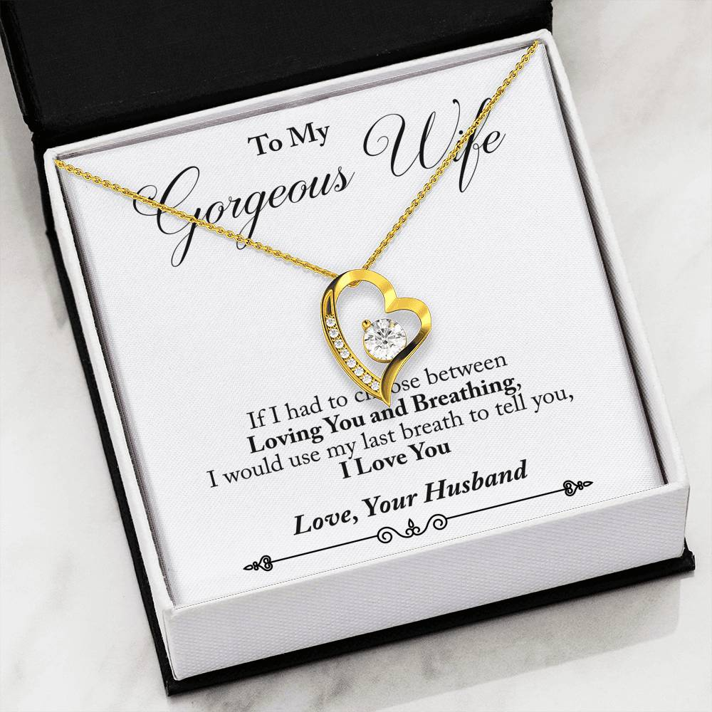 Husband to Wife - Last Breath (Love Diamond Necklace) - English