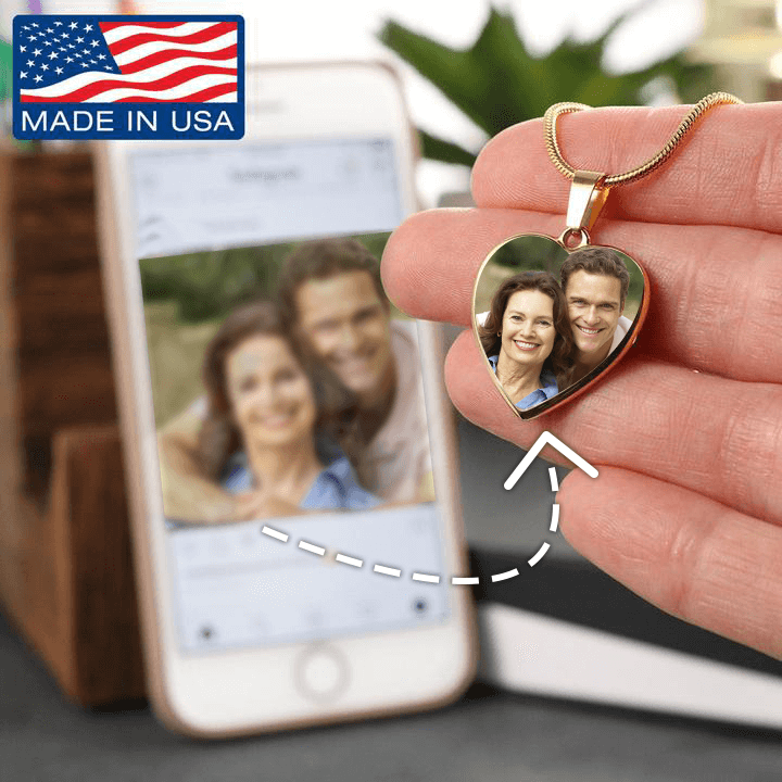 Your Photo To Necklace - Mother's Day Gift