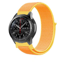Nylon sport watch band 22mm For Galaxy watch active 2 44/40mm Samsung gear s3 46mm correa bracelet 20/22mm huawei watch gt strap
