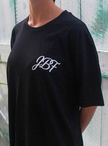 JBF T-Shirt with Foundation blurb on the back