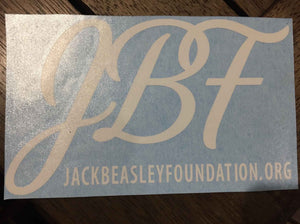 JBF Car Sticker