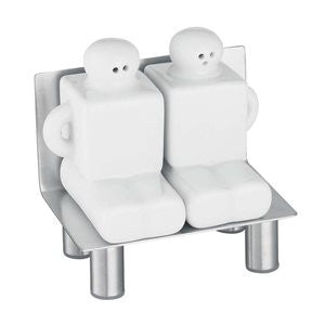 Bench Salt and Pepper Shakers