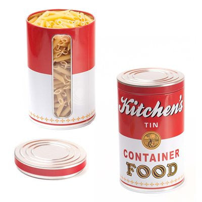 KITCHEN'S TIN FOOD CONTAINER