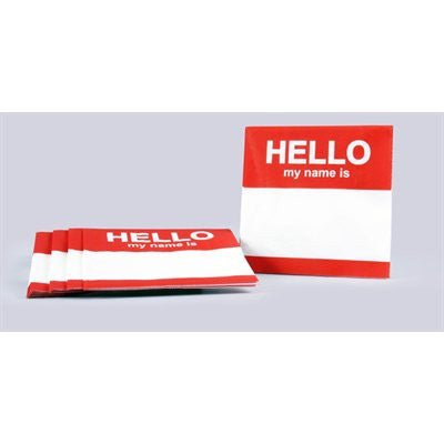 TAGGED NAPKINS-20 PK