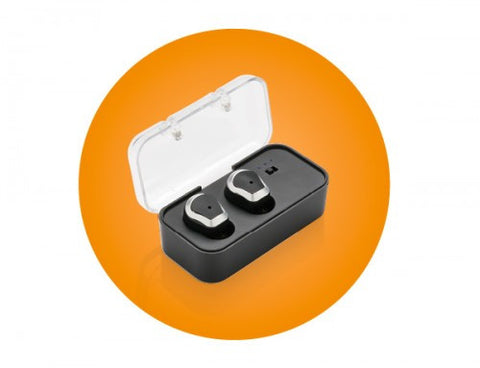 True wireless double earbud