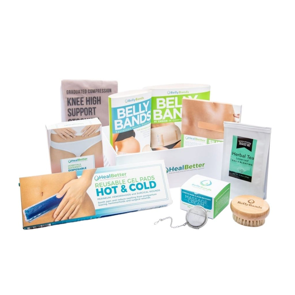 3-in-1 Pregnancy & C-Section Heal Better Deluxe Kit