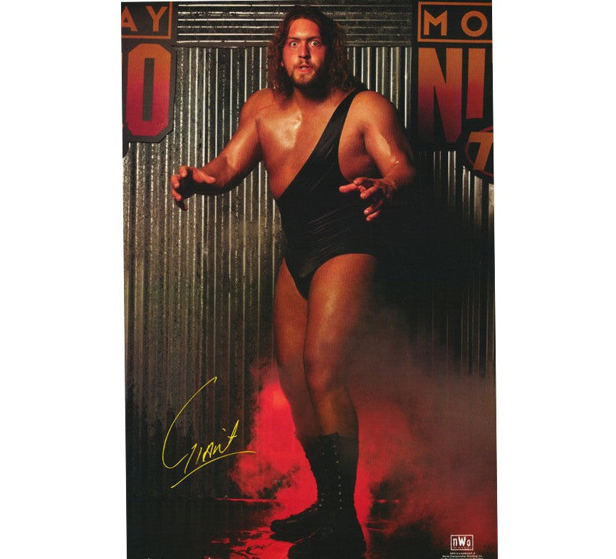 The Giant Vintage WCW Poster