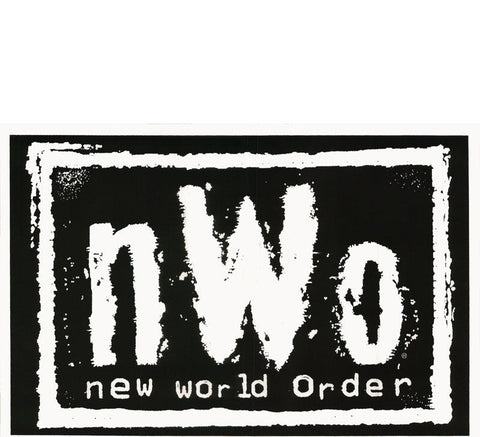 NWO Blacklight Vintage Poster