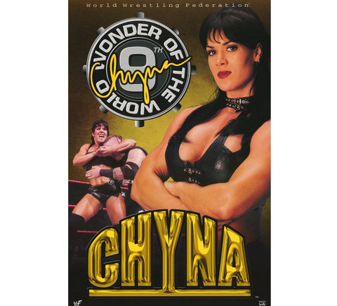 Chyna Vintage WWF Poster - And Still