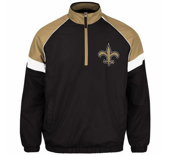 Saints Pullover Track Jacket