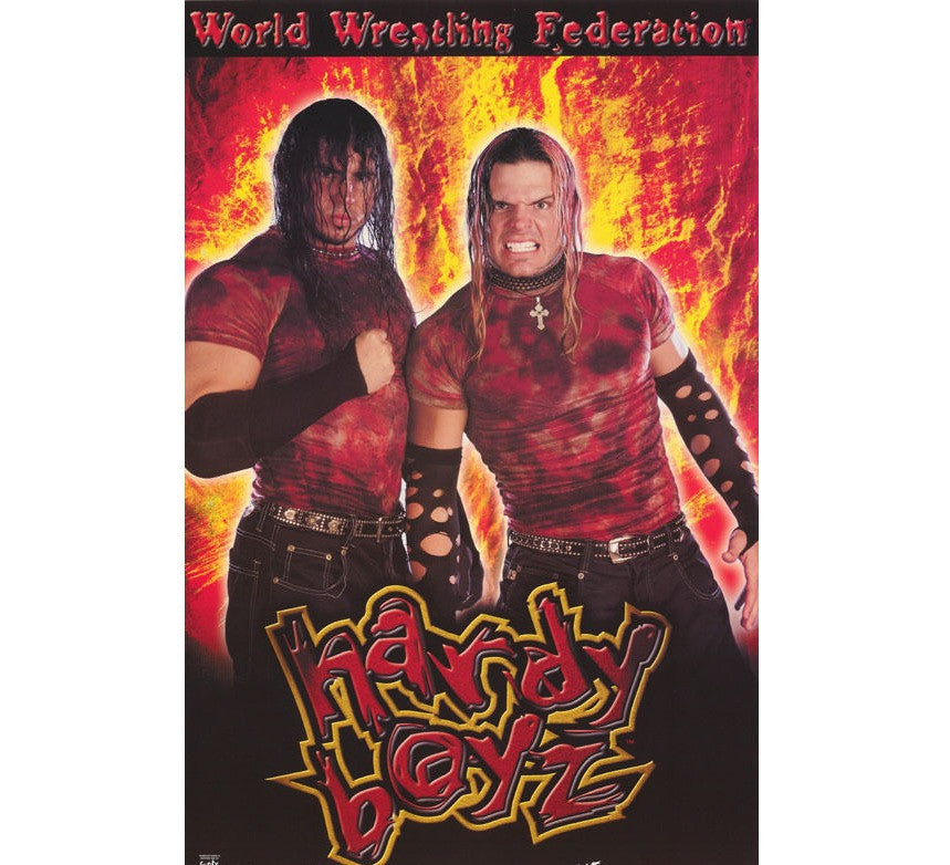 Hardy Boyz Vintage WWF Poster - And Still