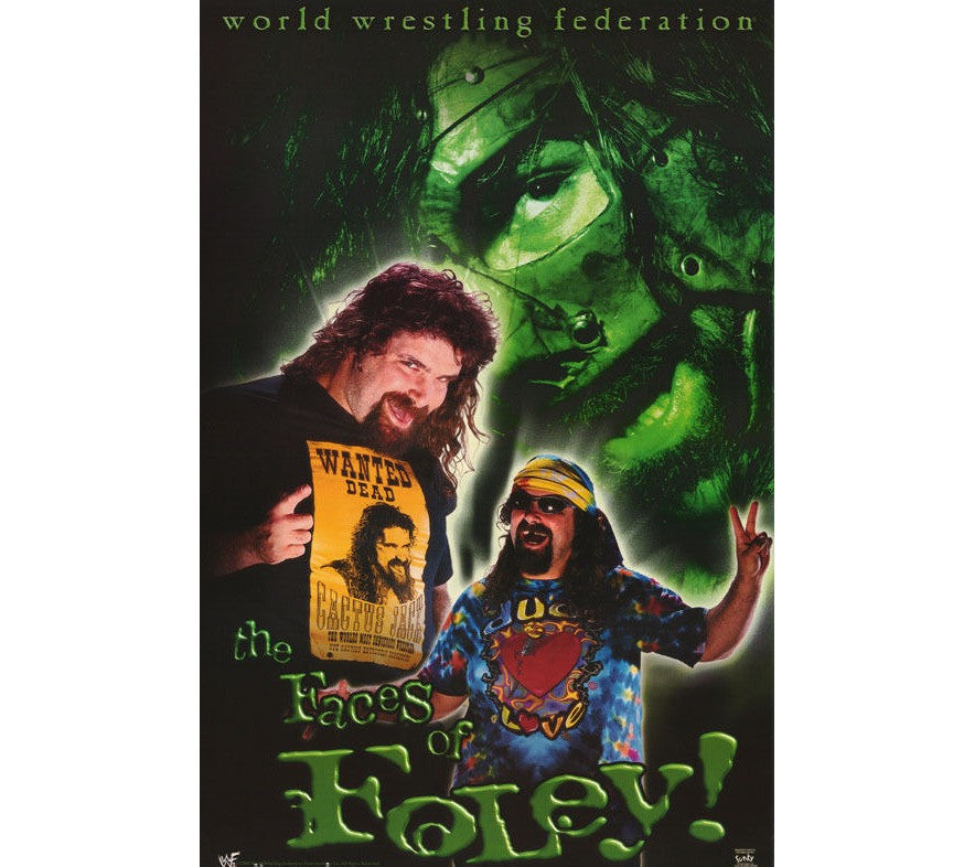 Mick Foley Vintage WWF Poster - And Still