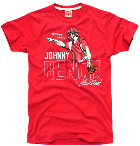 Johny Bench Retro Reds Shirt - And Still