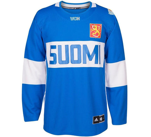 Finland World Cup Retro Jersey