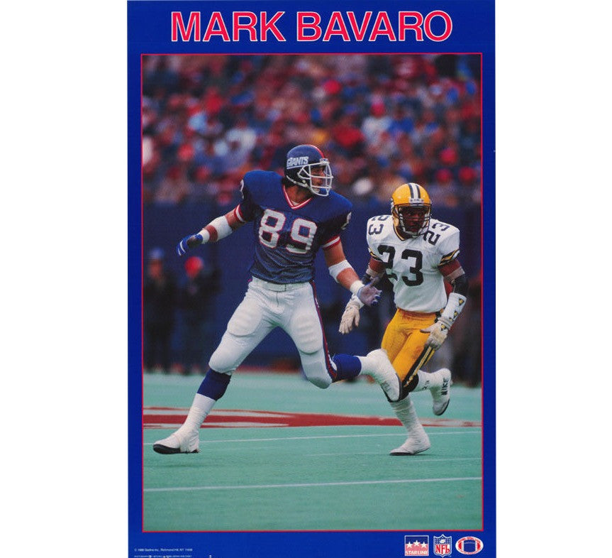 Mark Bavarro Giants Poster - And Still