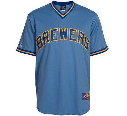 Brewers Cooperstown Jersey
