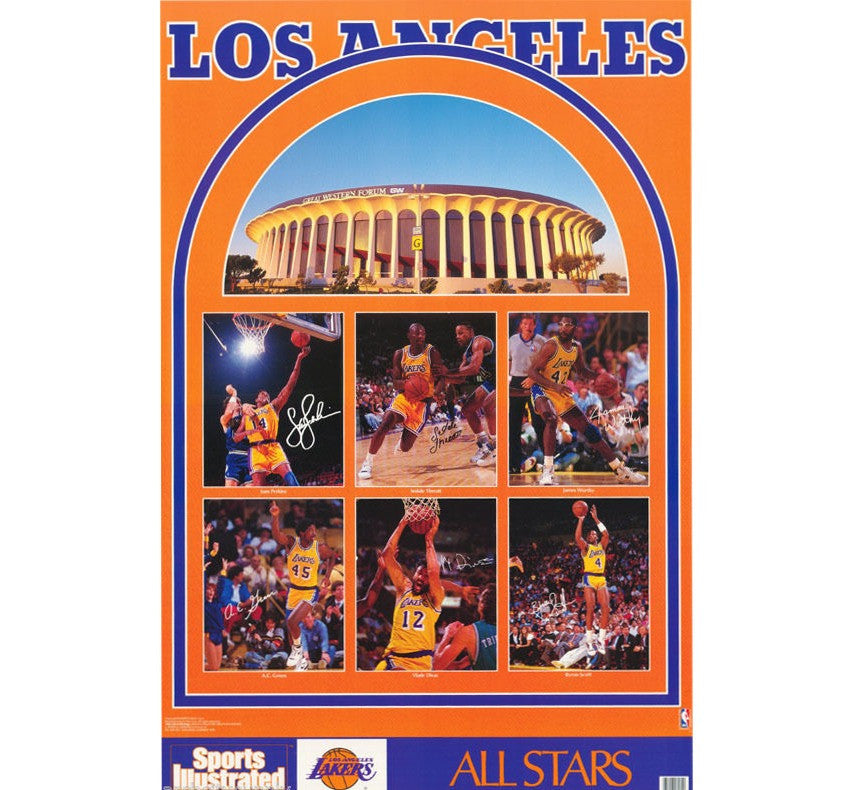 Lakers Vintage 90's Poster - And Still
