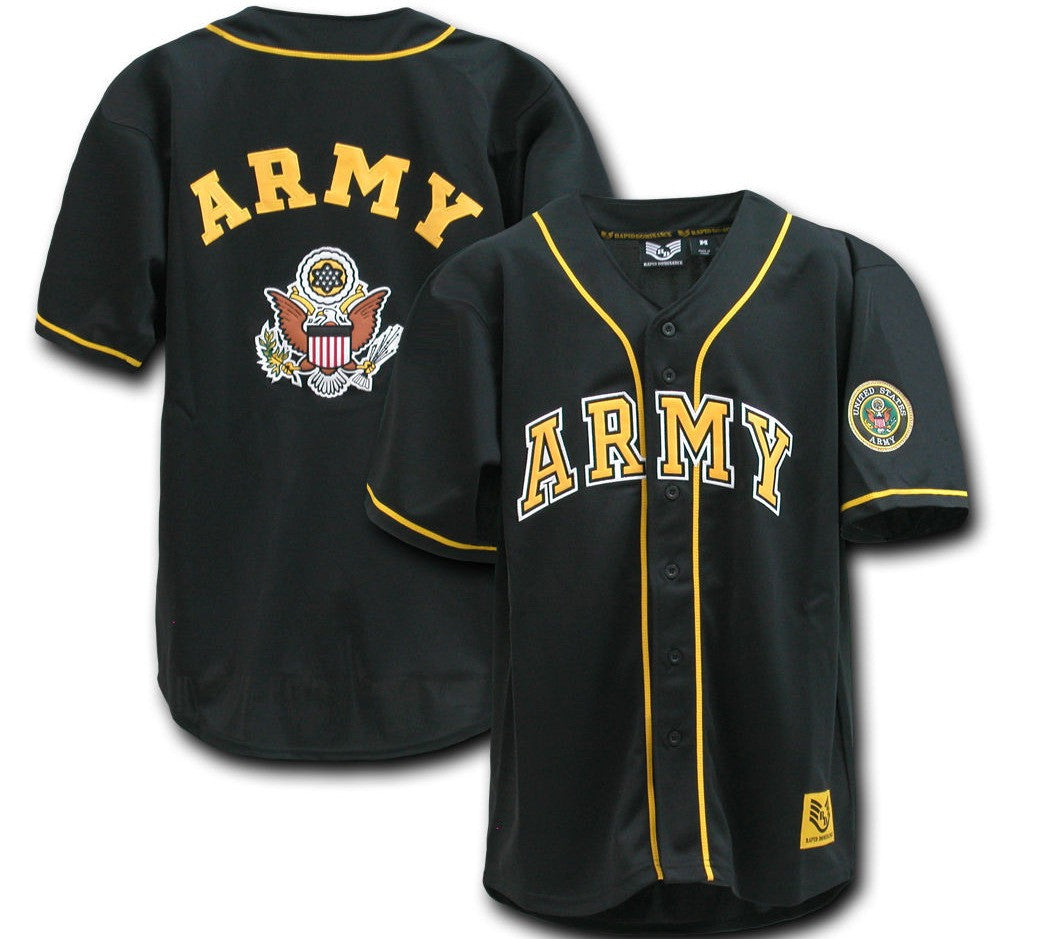 Army Retro Baseball Jersey - And Still