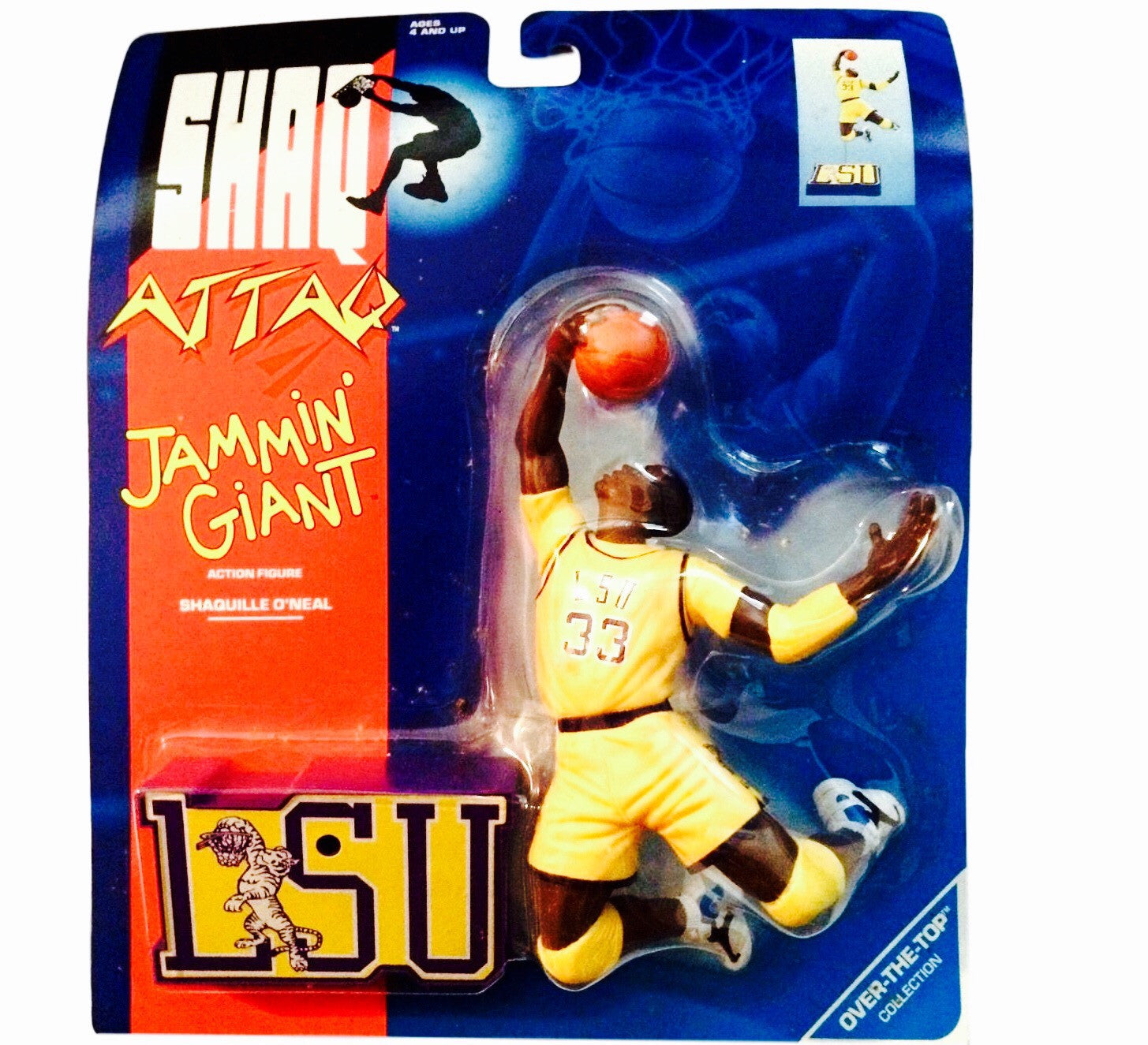 Shaquille O'Neal 90's Figure