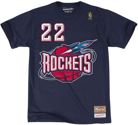 Clyde Drexler Rockets Shirt