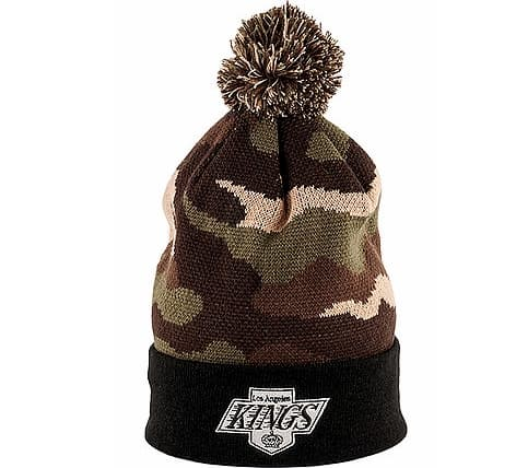 Kings Retro Pom Knit Beanie