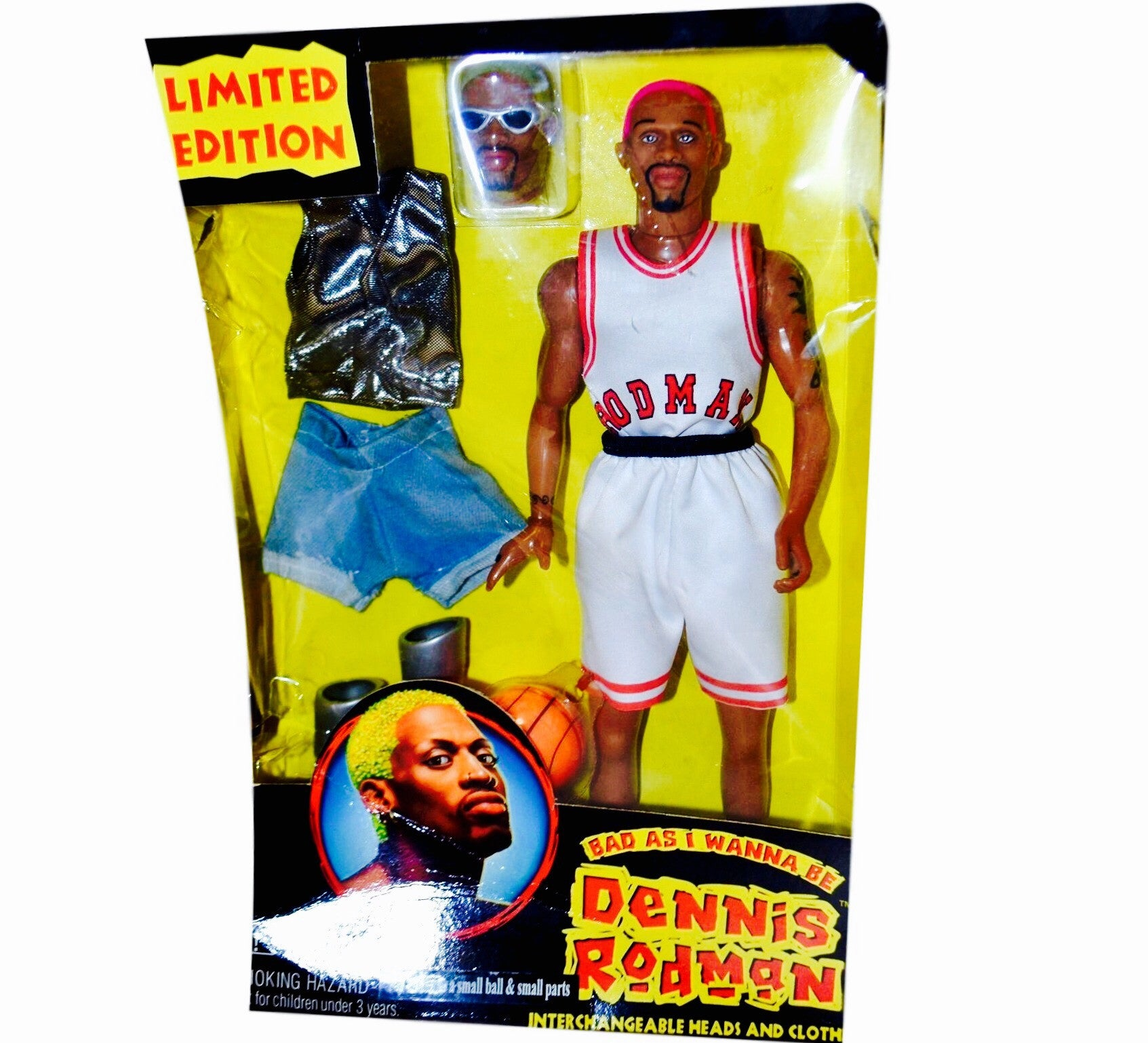Dennis Rodman Vintage Doll - And Still