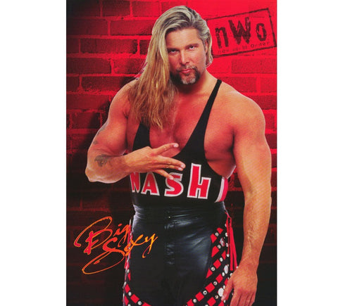Kevin Nash Vintage WCW Poster - And Still