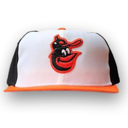 Vintage Baltimore Orioles Nylon Fitted