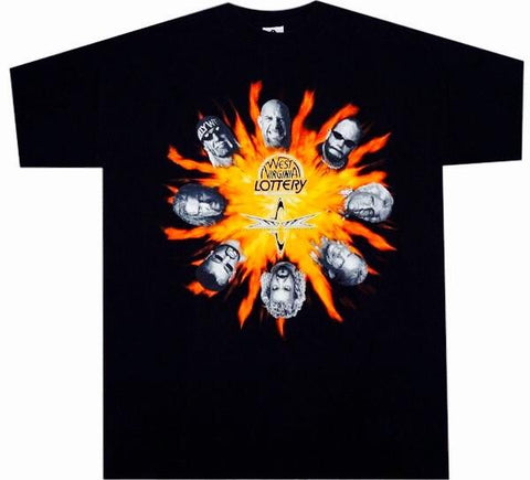 WCW Vintage 90's Lotto Shirt