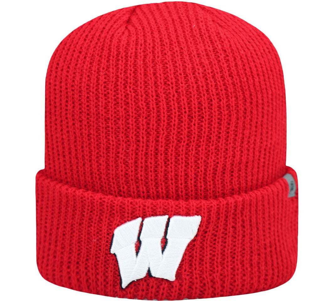 Badgers Retro KNIT Beanie - And Still