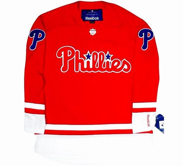 Phillies Retro Hockey Jersey
