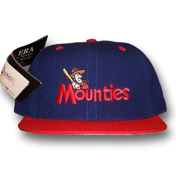Vintage Mounties Fitted Size 7 3/8