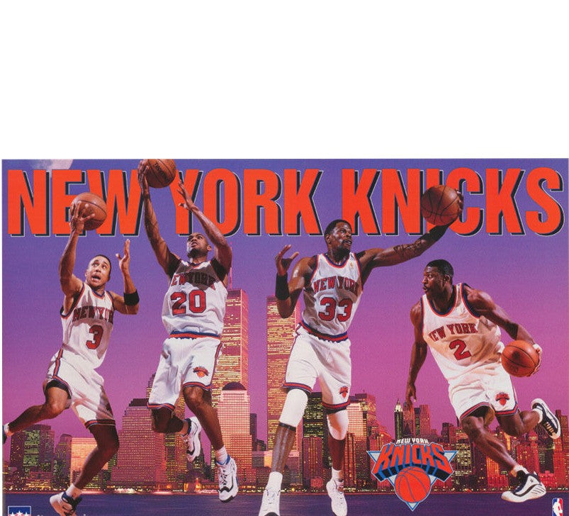 Knicks Vintage 90's Poster - And Still