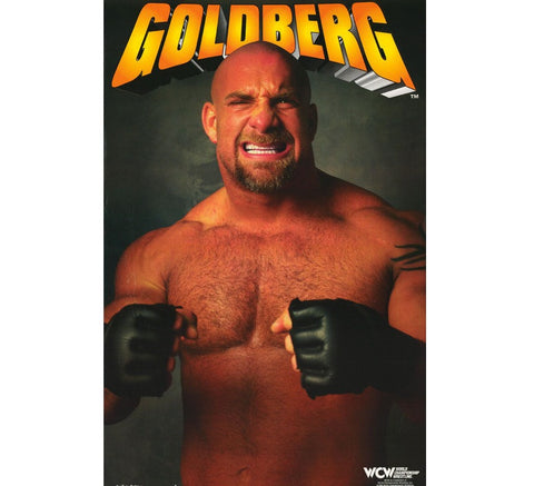 Goldberg Vintage WCW Poster - And Still