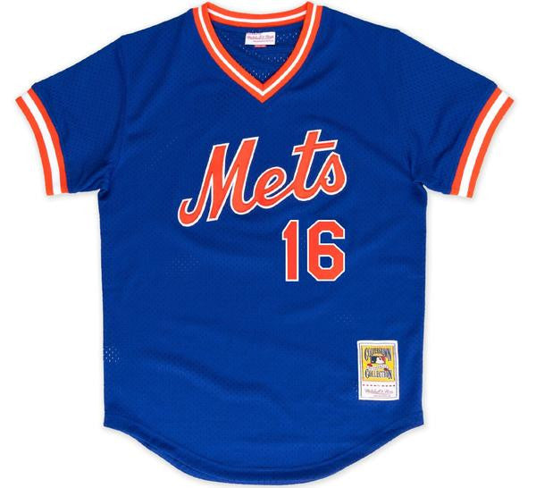 Dwight Gooden Mets BP Jersey - And Still