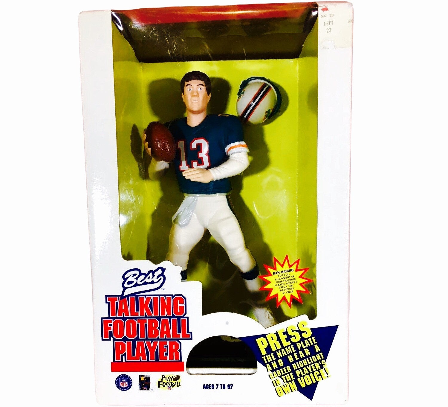Dan Marino Talking 90's Toy - And Still