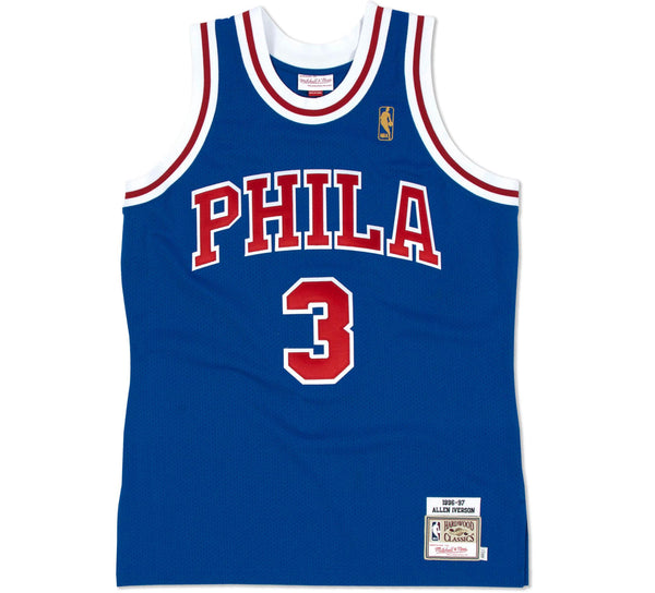 Allen Iverson Authentic Jersey