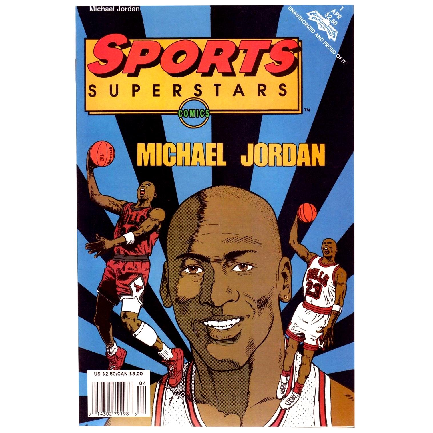 Vintage Michael Jordan Comic Book