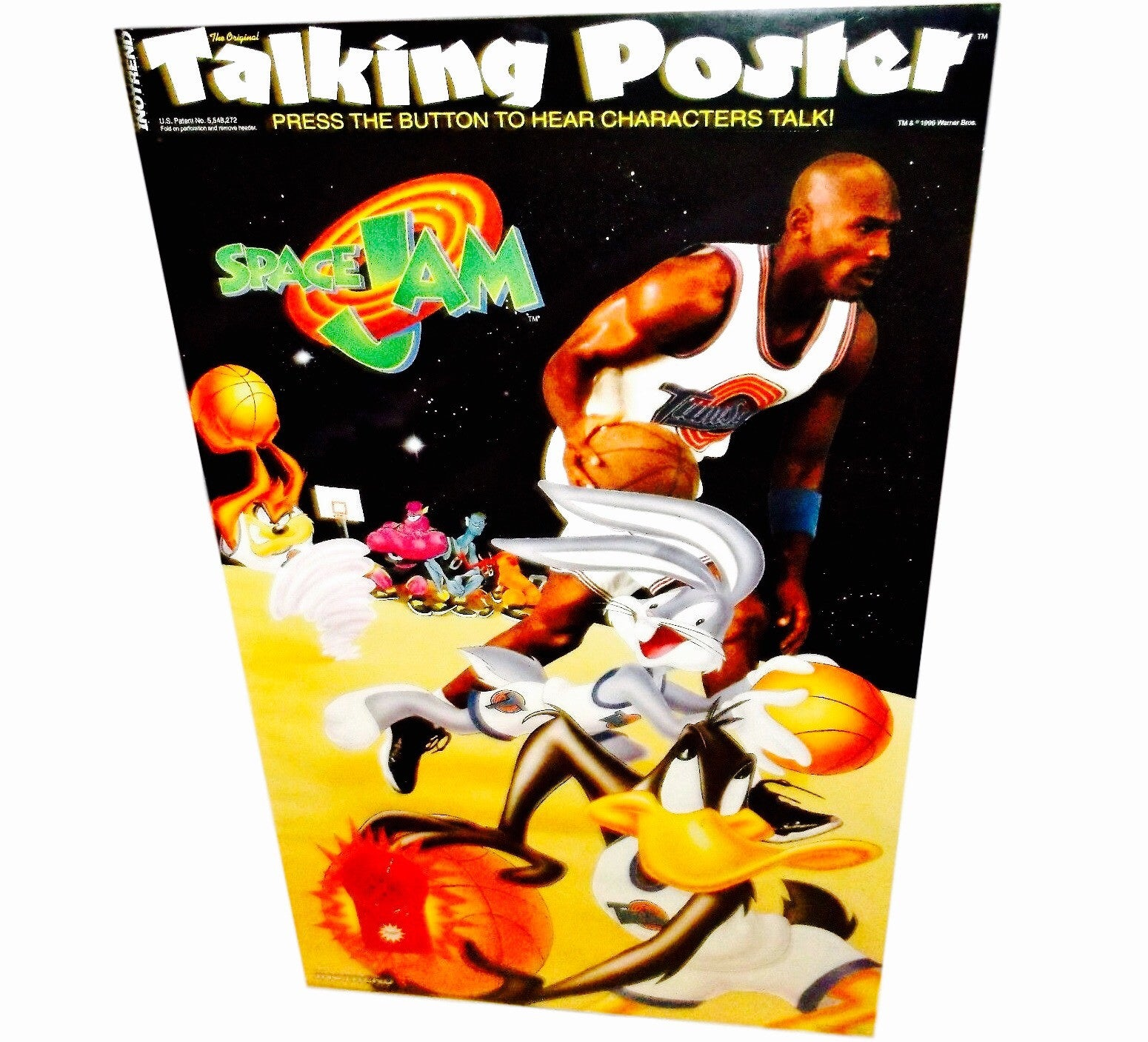 Space Jam Talking 90's Poster