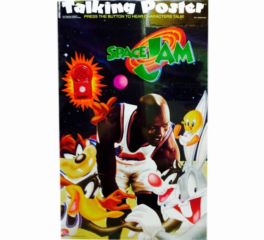 Space Jam 90's Talking Poster