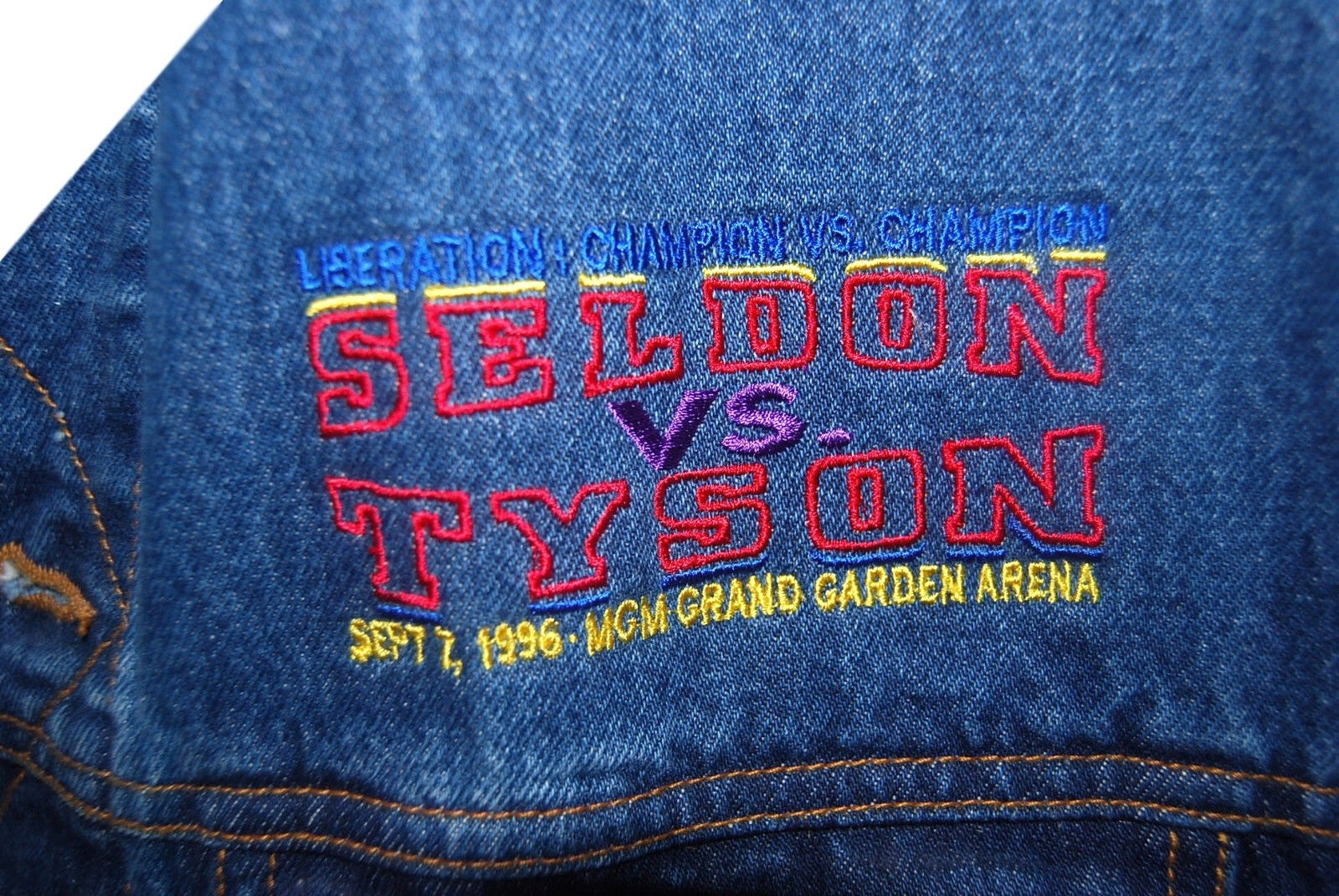Tyson VS Seldon Denim Vest