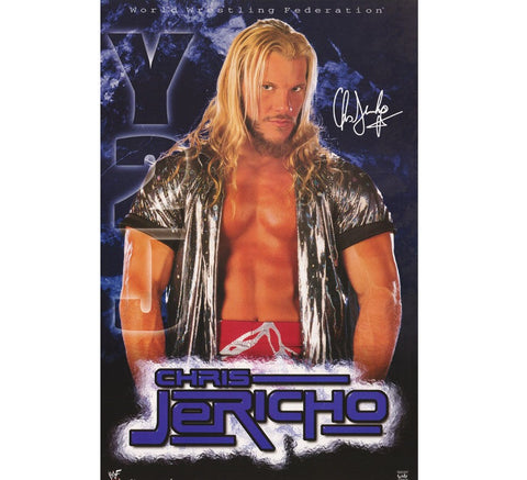 Jericho Vintage WWF Poster - And Still