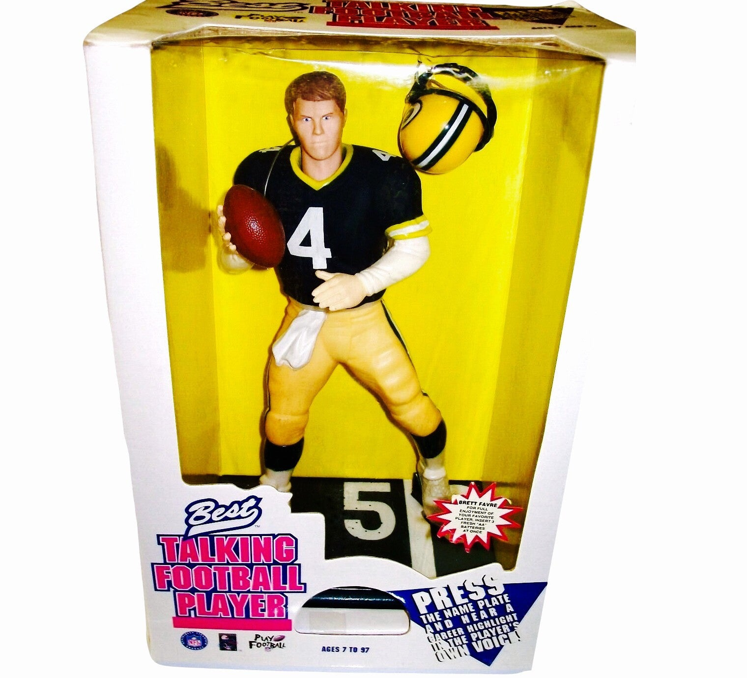 Brett Favre Talking 90's Toy - And Still