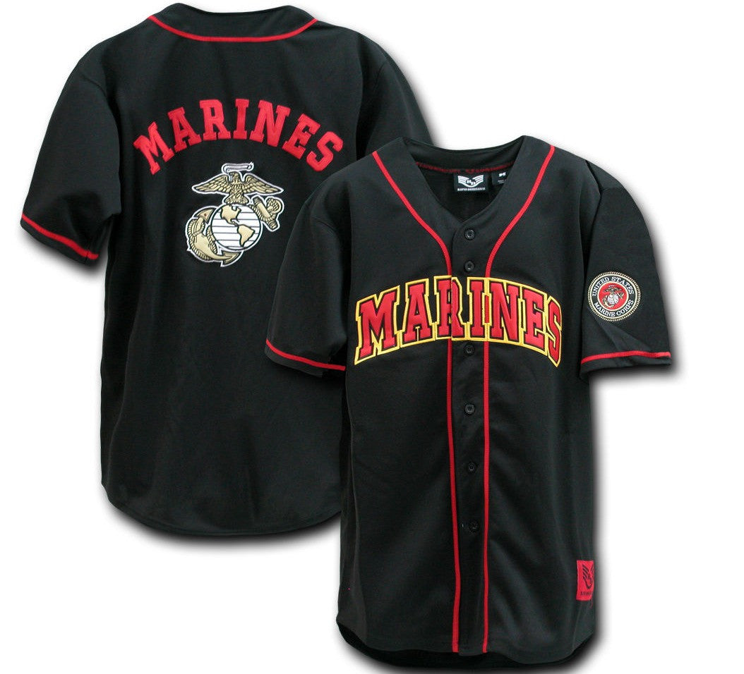Marines Retro Baseball Jersey - And Still