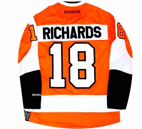 Mike Richards Flyers Jersey - And Still